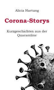 """Coverblatt """"Corona-Storys: Kurzgeschichten aus der Quarantäne"""""""